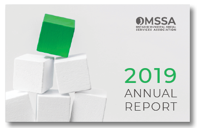 Cover of OMSSA's 2019 Annual Report