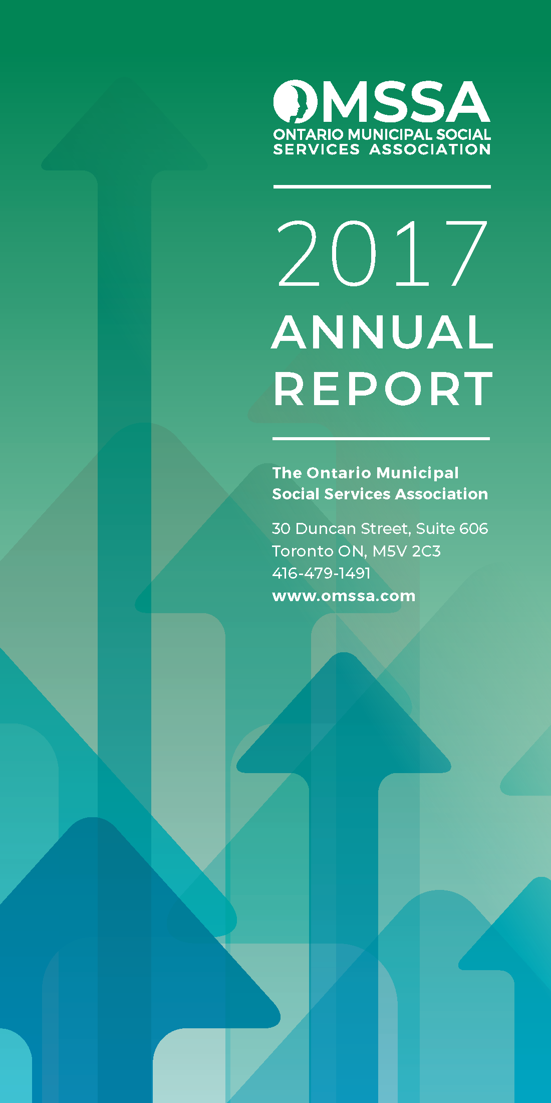 Cover of OMSSA's 2017 Annual Report