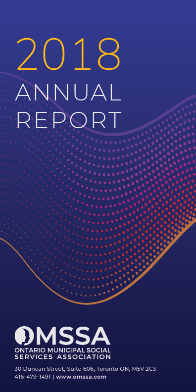 Cover of OMSSA's 2018 Annual Report